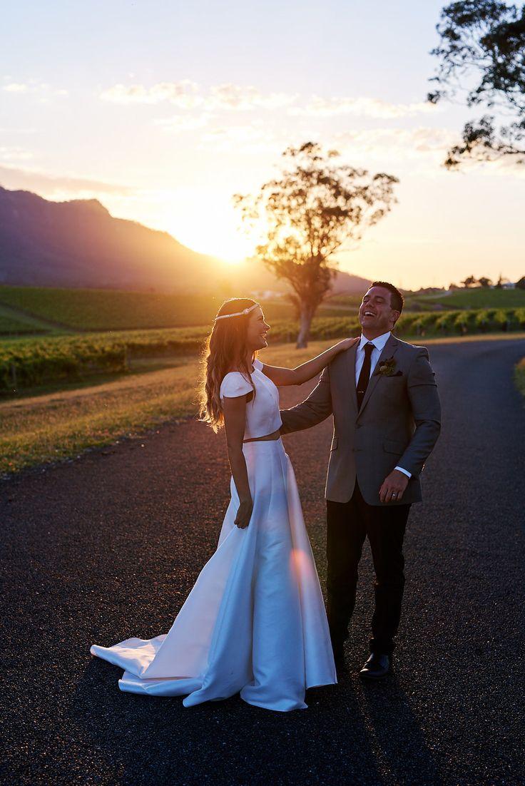 Dominique + Daniel's Hunter Valley winery wedding; White Lane Studio