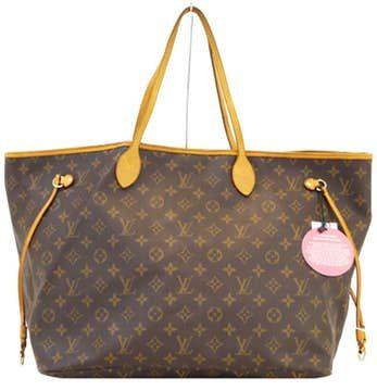 Louis Vuitton |  Monedero auténtico Louis Vuitton Neverfull Gm bolso de hombro E2671
