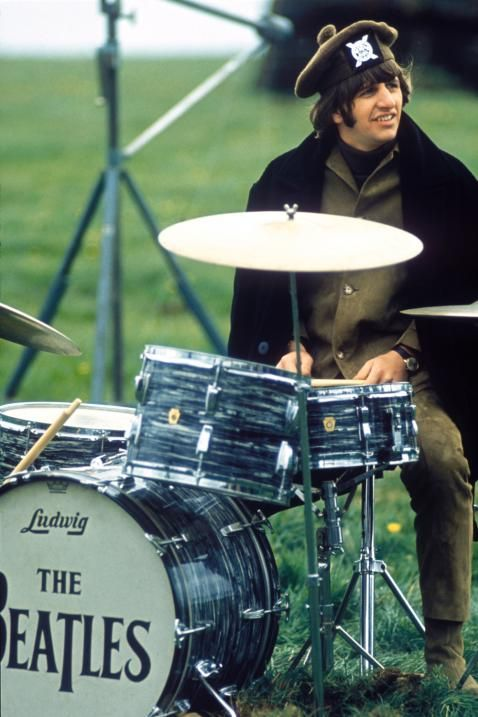 "Ringo in the film ""Help!"" - The Beatles"
