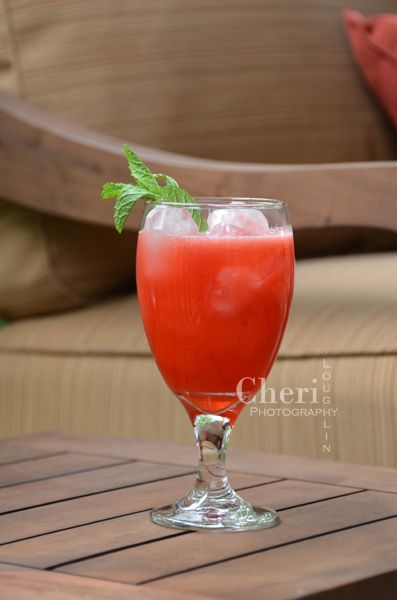 ... fresh mint. Additional variations with cranberry juice and lemon lime