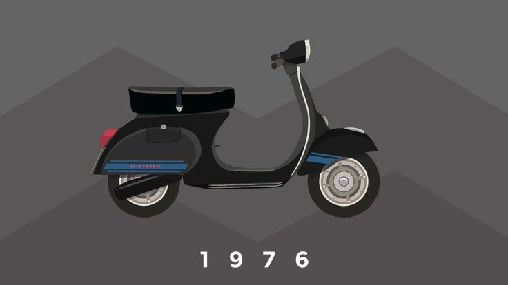 Vespalogy, An Animated Look at the Evolution of the Vespa