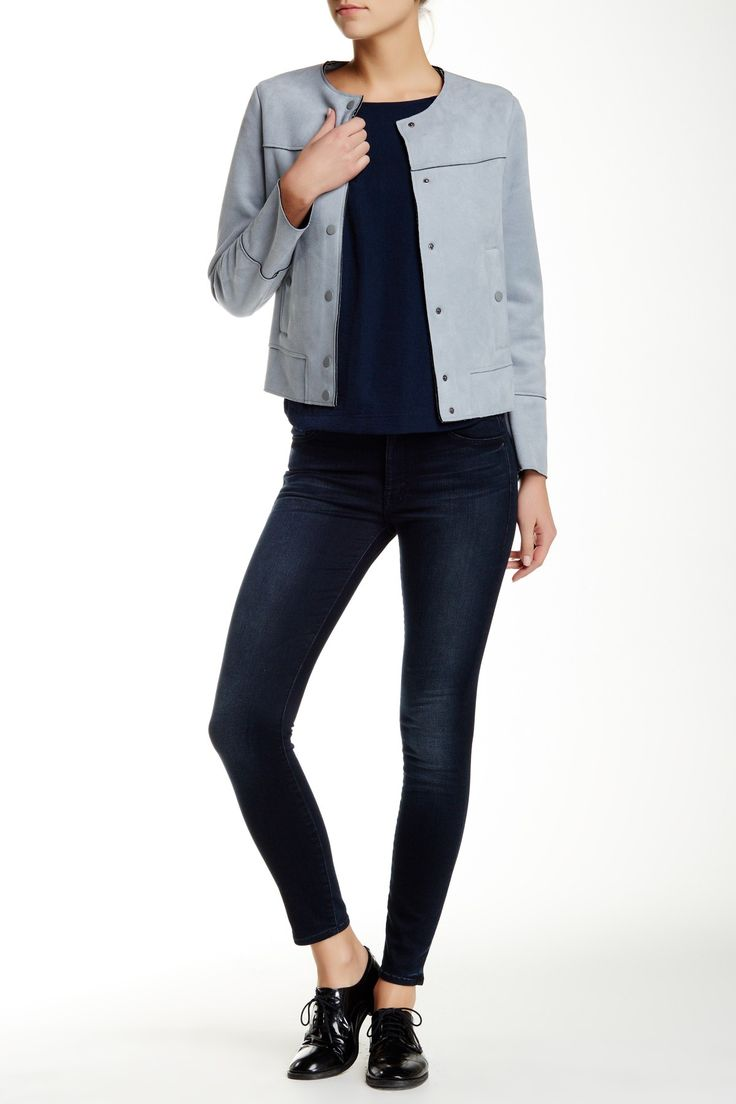 MOTHER - The Looker High Waisted Skinny Jean at Nordstrom Rack. Free Shipping on orders over $100.