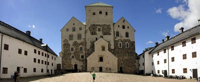 Turku Castle in Turku, Finland