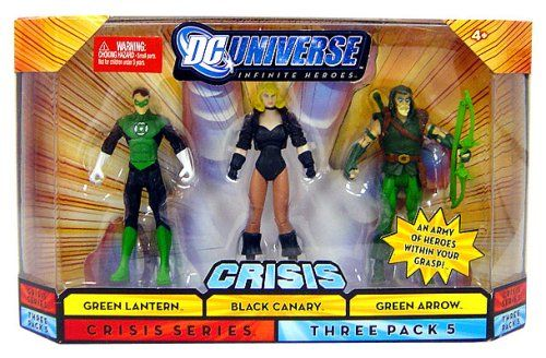 Mattel DC Universe Infinite Heroes Green lantern  Black Canary  Green Arrow * Be sure to check out this awesome product.