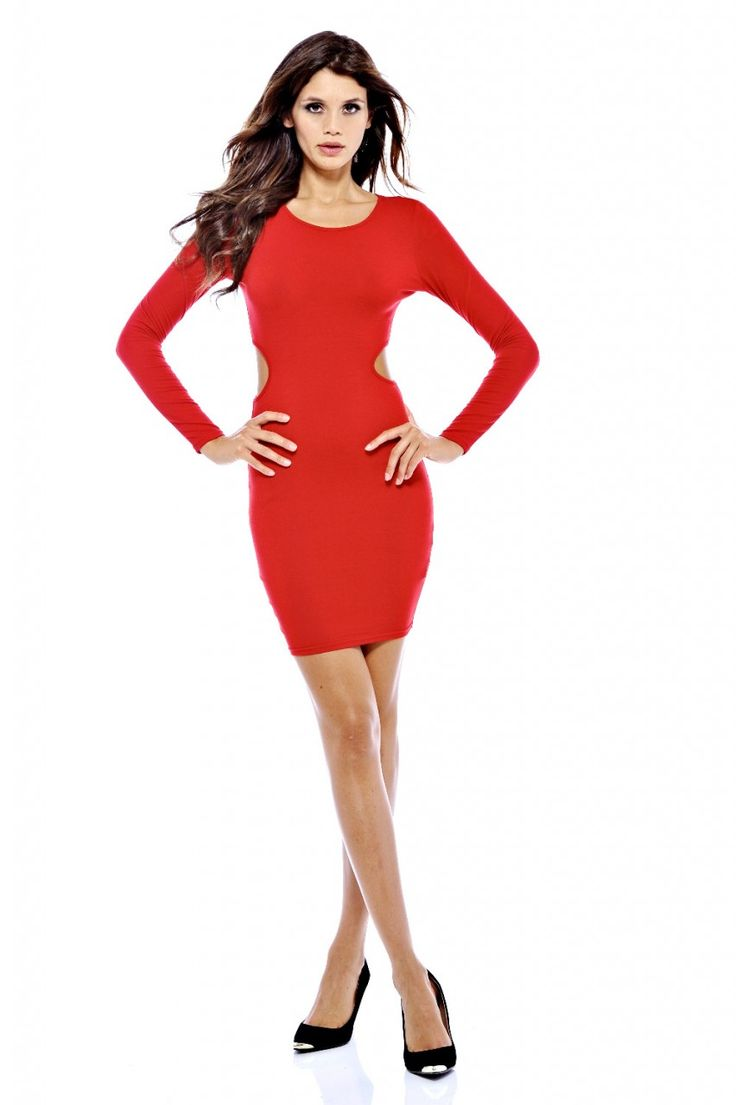 long-sleeve-red-dresses-party-