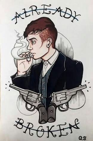 Thomas Shelby peaky blinders tradtional