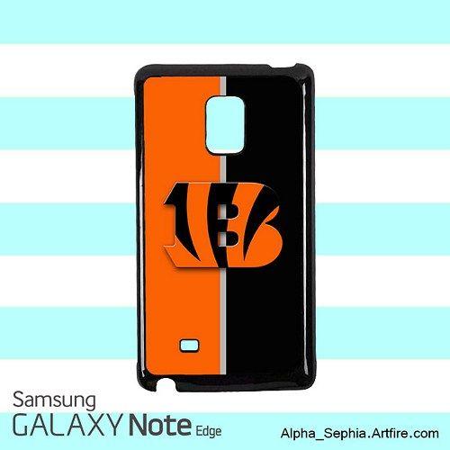 Cincinnati Bengals Logo Samsung Galaxy Note EDGE Case Cover