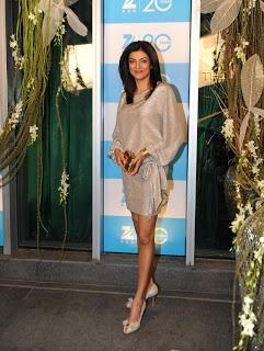 Sushmita Sen at 20 Years Celebration of Zee Television.