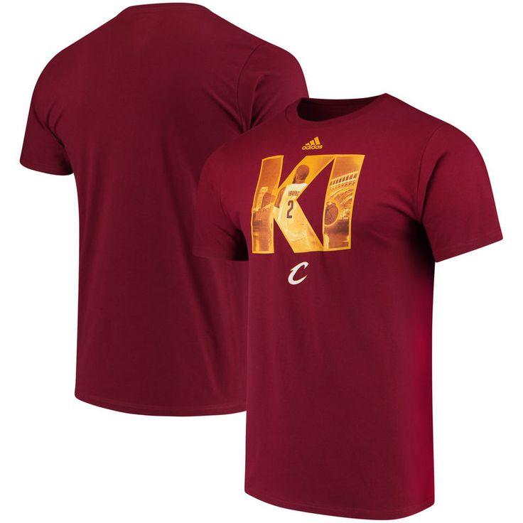 Kyrie Irving Cleveland Cavaliers adidas Initial Landmark T-Shirt - Burgundy