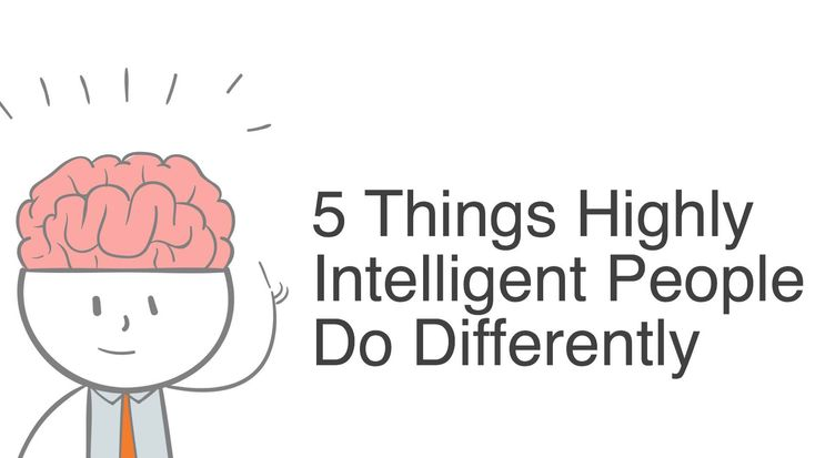 Intelligence is quite rare today, and isn't practiced and applied like it used to be. However, here are 5 things highly intelligent people do differently...