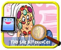 Beauty Regime - Find the Differences Game for Kids