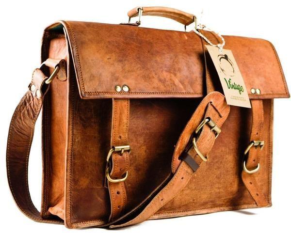Vintage Leather Sydney Satchel - Vintage Leather