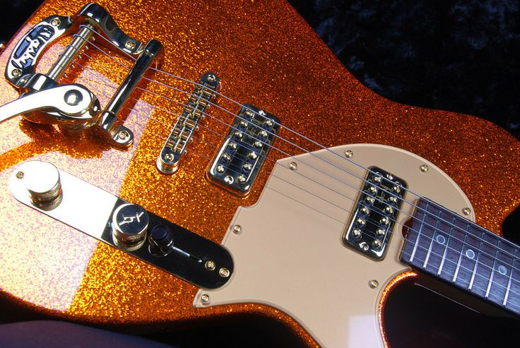 Grosh Guitars - Reserve PlexiT, Orange Sparkle, TV Jones