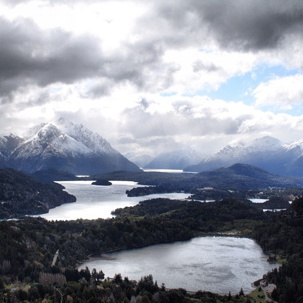 The view from Cerro Campanario near Bariloche, Argentina - one of the top 10 views in the world according to National Geographic #argentina #vistas
