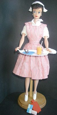 1964 Barbie Candy Striper Fashion