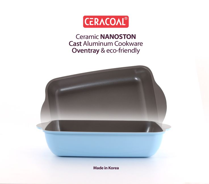 CERACOAL COOKWARE - RECTANGLE OVENTRAY
