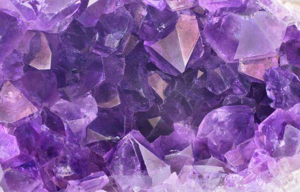 lilac amethyst gems macro background
