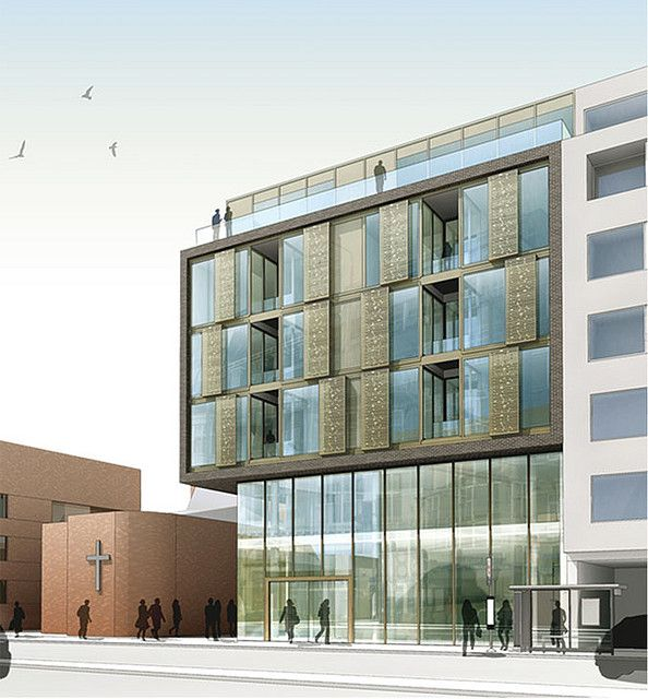 DMFK_ FINCHLEY RD_ FRONT EXTERNAL RENDER by Charlie Caswell