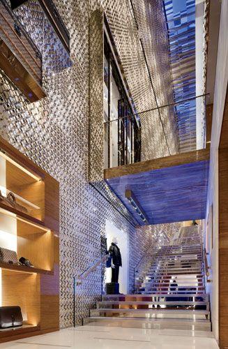 Louis Vuitton New Bond Street   Peter Marino Architect   Slide show   Architectural Record