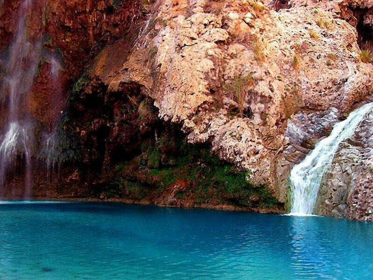 Pir Gaib waterfall Balochistan Pakistan