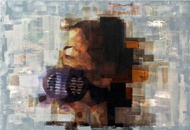 Erdinç Babat  | breathless   mixed technique on canvas | 150x130cm paintings, erdincbabat, cepgallery,
