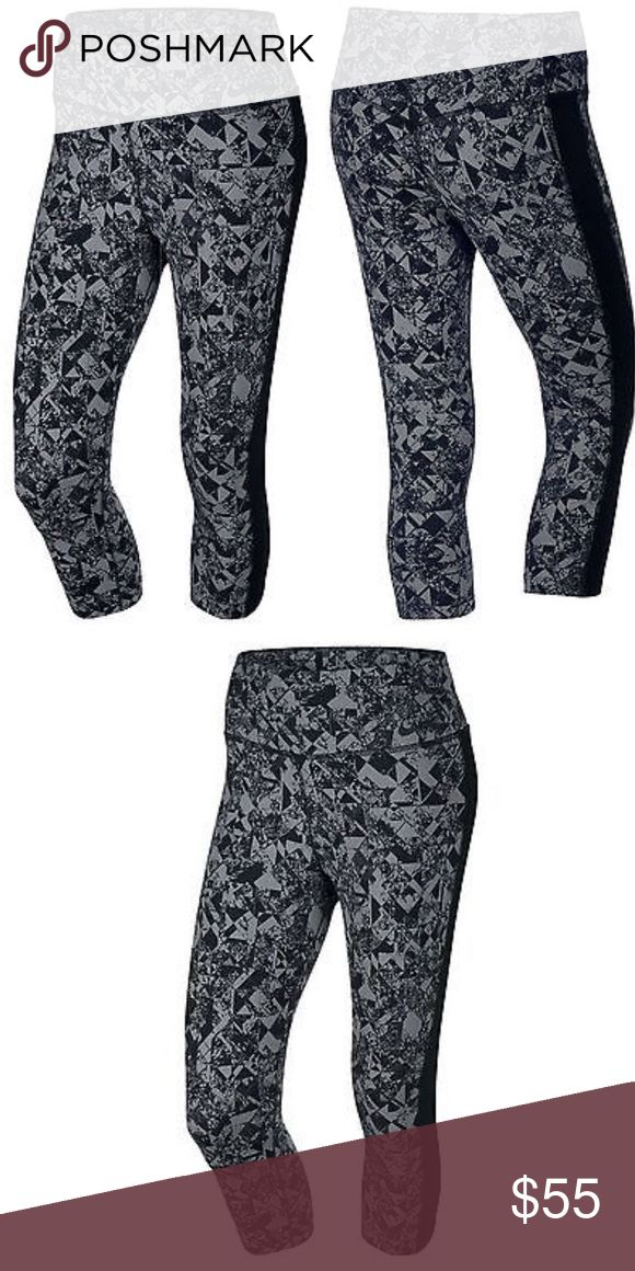 Nike Legendary Jewels Tight Women Training Capris Featuring the softest fabric of any Nike training pants, the Nike Legendary Jewels Tight Women's Training Capris are designed with feminine lines and a fit that hugs your legs from hip to hem for maximum comfort and a flattering look.  ULTRA-SOFT FEEL The Nike Legendary Jewels Tight Women's Training Capris feature the softest fabric of any Nike training pants. A high nylon content offers a more plush feel than polyester, and a hint of spandex…