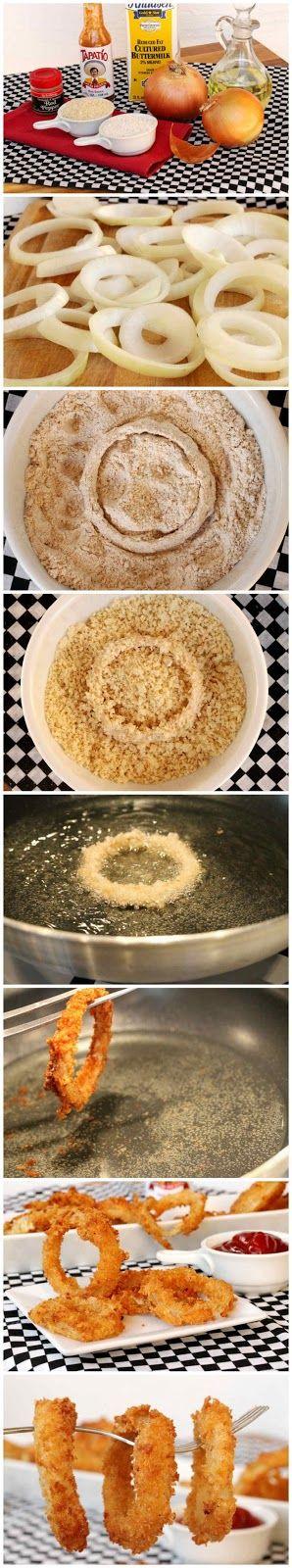 Crispy Onion Rings Recipe