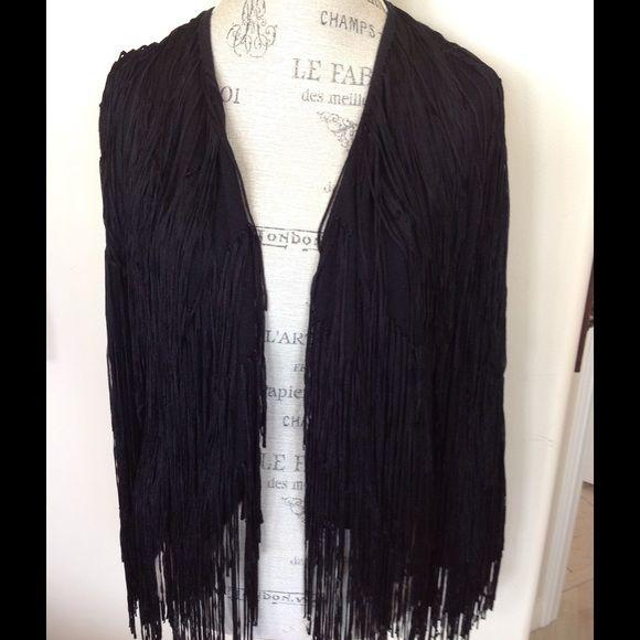 FRINGE SWEATER Like new Fringed Sweater. Ella Moss Sweaters Cardigans