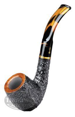 Savinelli Tiger Rustic Bent Pipe #tobacco #pipes
