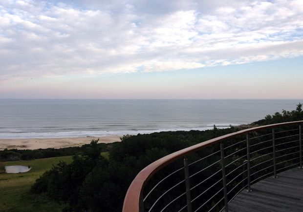 What a view! Oceana Beach and wildlife reserve near Port Alfred in the Eastern Cape