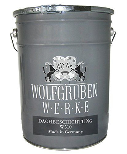 de 5,49EUR/L – PEINTURE TOIT Type: Wolfgruben Werke (WO-WE) W510 pour peindre et pour les tuiles, les tuiles en ciment, amiante-ciment et…