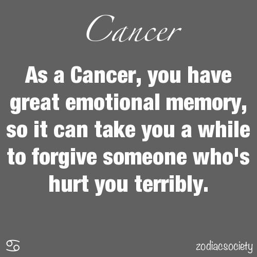 ♋⚜❤️ Cancer ❤️⚜♋️ Okay, I don't buy into the Zodiac stuff, but this quote sure does have some truth to it... #CancerMoonChild
