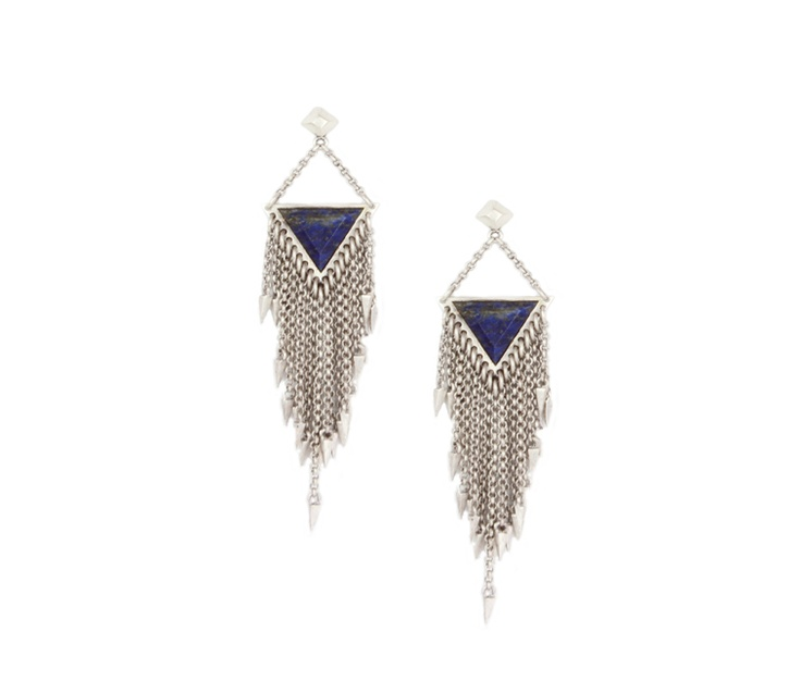 Lailya silver earrings with spikes