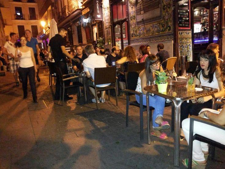 Una noche cualquiera en @vivamadrid1856