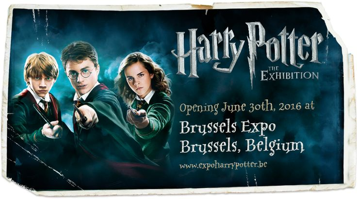 Harry Potter Exhibition Brussels