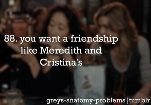 Grey's Anatomy Problems - Lucky for Me, I already have my own person! @Nakita Ferrell Ferrell Ferrell Johnston