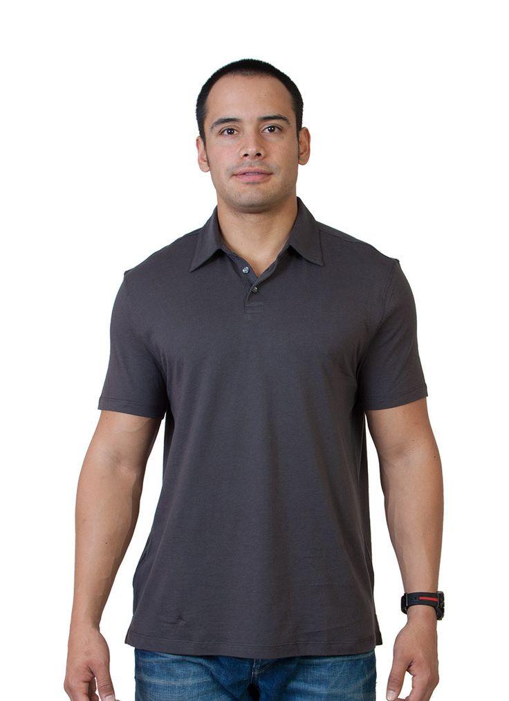 Golf Shirt - Charcoal