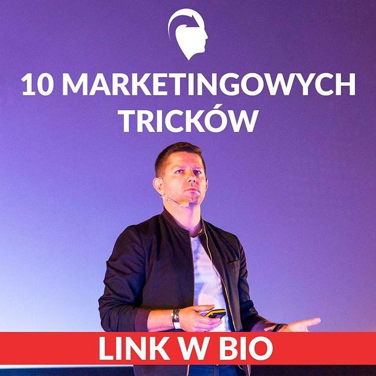 O 10 marketingowych trickach opowiadał @michaleksadowski na #ilovemkt. Zobacz darmowe video na naszym blogu!