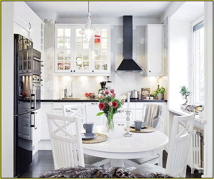 Marvelous White Round Kitchen Table Set   Google Search Great Pictures