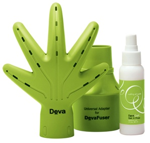 This innovative hand-shaped diffuser creates softer, shinier, healthier, frizz-free hair.  Created specifically for curly hair!  Normal diffuser I have still causes my curls to frizz which is why I never use, interested to see how this works.