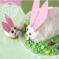 Easy Easter Bunny Cake @ allrecipes.com.au