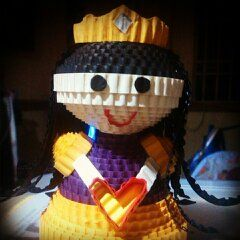#princess #kokoru #handmade #papercraft