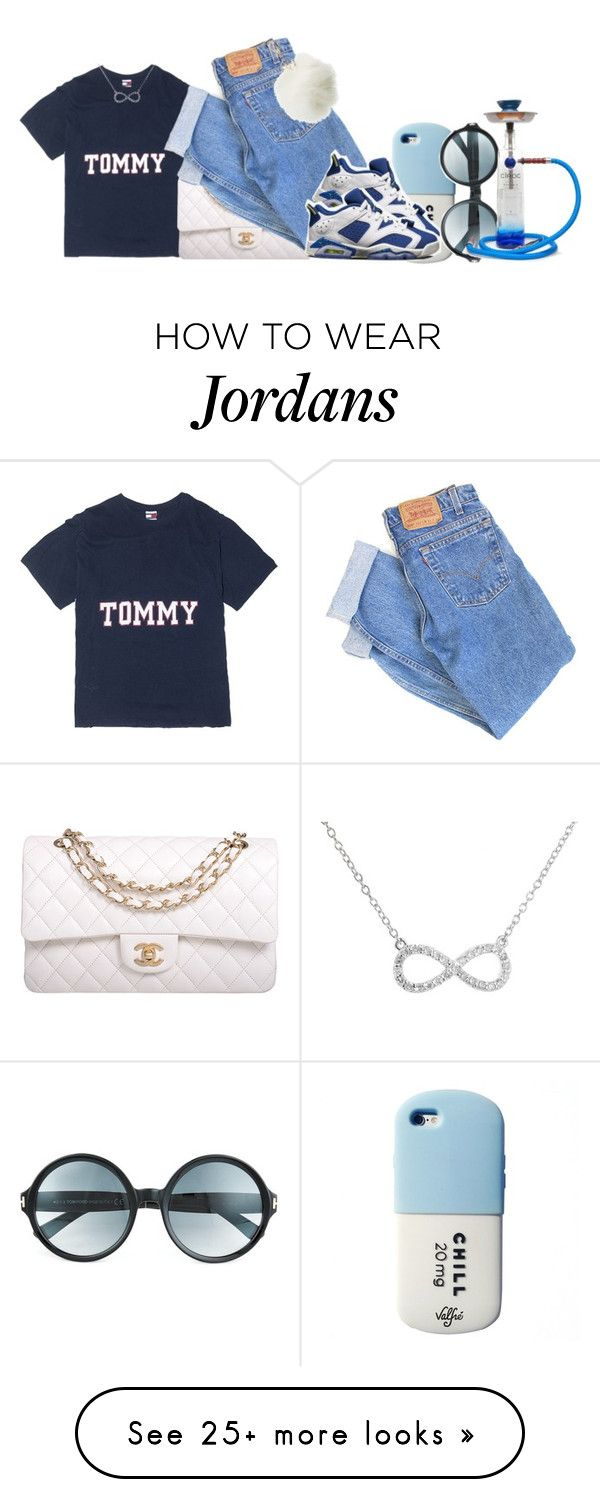 """""""One of those days..."""" by jayzhee on Polyvore featuring Chanel, Levi's, Valfré, NIKE, Tom Ford and Charlotte Russe"""