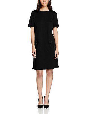 16, Black, Wallis Petite Women's Ponte Casual Dresses NEW