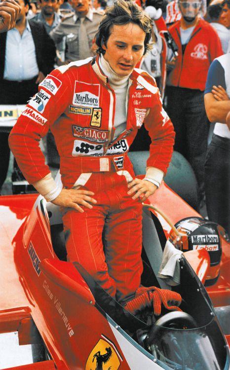 "Gilles ""Gilles brought much prestige to the name of Ferrari. I loved him.""- Enzo Ferrari"