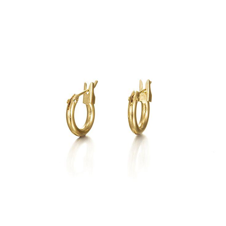 Gold Baby Earrings