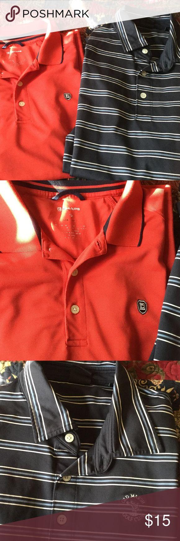 Men's golf shirt bundle (2) Men's bundle of two golf shirts Shirts Polos