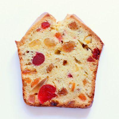 British cake aux fruits confits