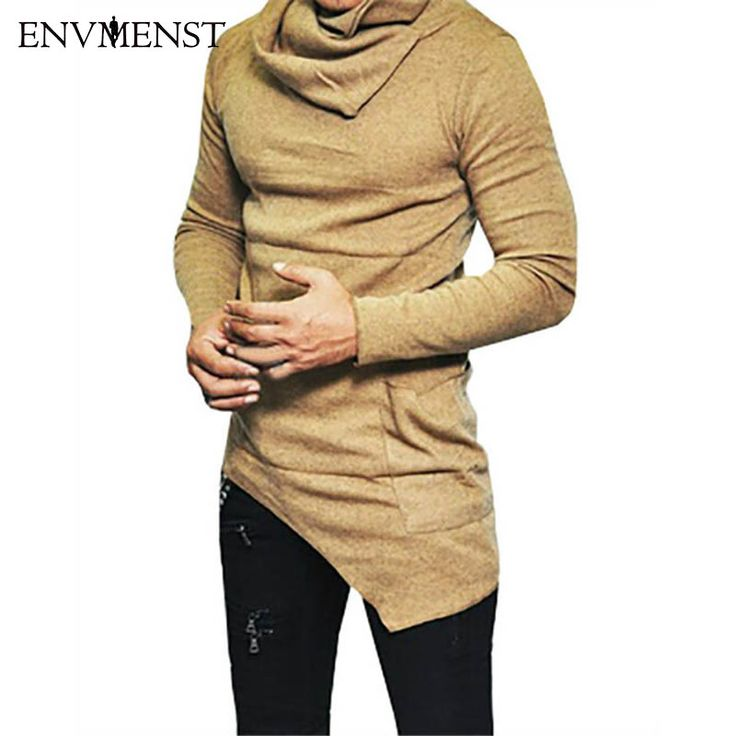 2017 Envmenst Top Fashion Brand Turtle Neck Street T Shirt Men Hip Hop Long Sleeves Asymmetry Designed Men's Tees US Size 5XL -  Check Best Price for. We provide the best deals of finest and low cost which integrated super save shipping for 2017 Envmenst Top Fashion Brand Turtle neck Street T shirt Men Hip Hop Long Sleeves Asymmetry Designed Men's Tees US Size 5XL or any product.  I hope you are very happy To be Get 2017 Envmenst Top Fashion Brand Turtle neck Street T shirt Men Hip Hop Long…