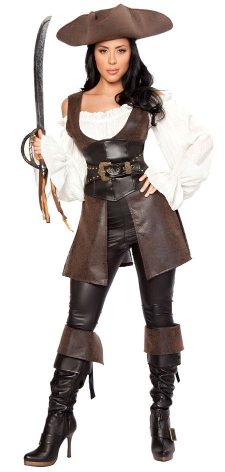 Pirate Halloween Costumes for Women   costumes women s pirate costumes premier pirate woman adult costume